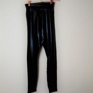 Vegan leather leggings by American Apparel